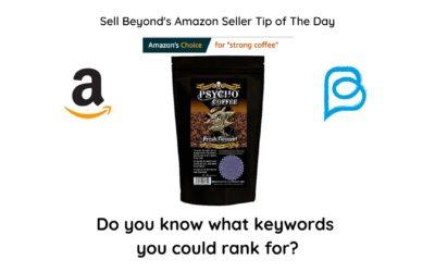 How do I get the Amazon's choice badge?