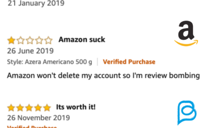 How to find the identity of people who review products on Amazon